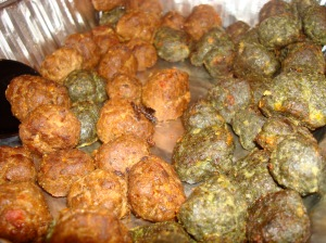 pesto balls